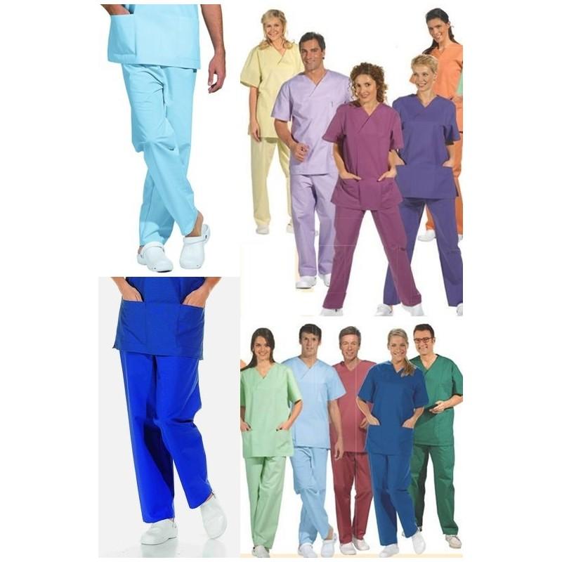 e0812e52cc7 ... Pantalon de bloc opératoire couleurs ...
