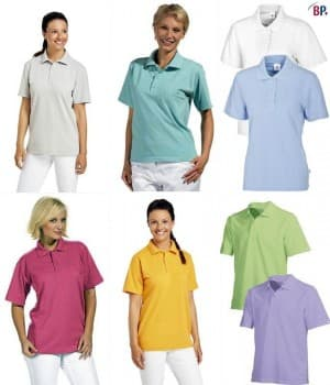 Polos femme manches courtes