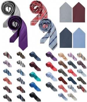 Cravates homme en Soie ou Polyester
