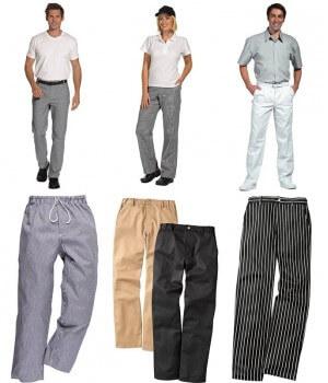 Pantalons cuisine – Pantalons boulanger