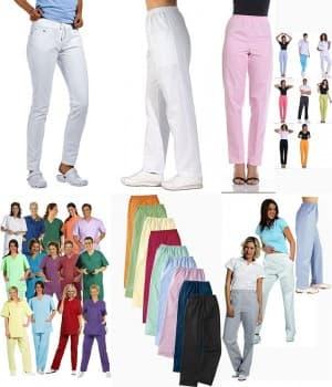 Pantalons blanc ou couleur