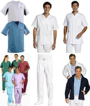 Vêtements Homme pour professions médicales