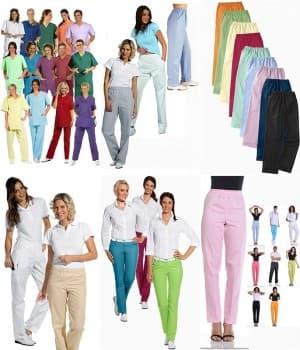 Pantalons Couleur Femme, taille normale