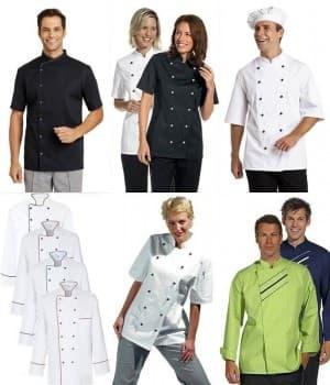 Vestes de Cuisine et Vestes de Chef