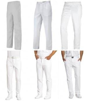 Pantalons 100 % coton Homme