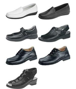 Chaussures confort pour personnel de service