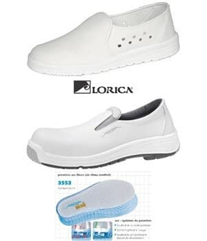 Chaussures spéciales lavables et/ou hydrofuge