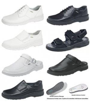 chaussures Reflexor® massage, confort, cousu main, Homme