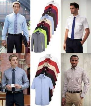 Chemises Homme (manches longues ou courtes)