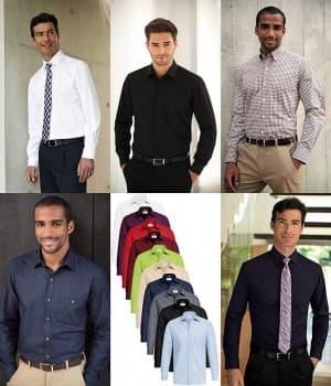 Chemises manches courtes ou longues, chemise à épaulettes pilote