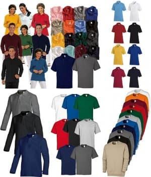Polos, t-shirts, sweats