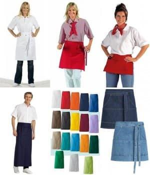Tabliers de Cuisine et de Serveur, Serveuse