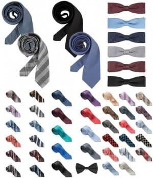 Cravates, Noeuds papillon
