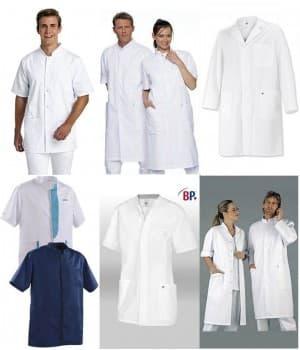 Blouses blanches ou couleur Homme