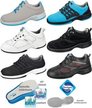 Chaussures de travail UNI6, fashion et confort