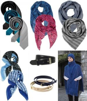 Cravates, Foulards, Echarpe, Ceinture