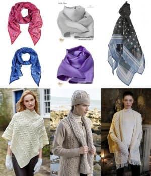 Foulards, étoles et écharpes