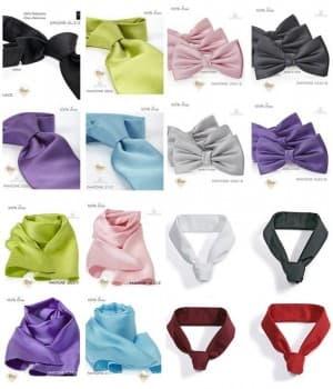 Cravates, Noeuds, Foulards, Tours de cou