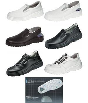 Chaussures de travail avec embout acier