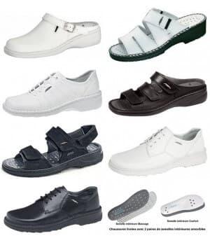 chaussures Reflexor® massage, grand confort - cousu main