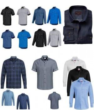 Chemises de travail coton
