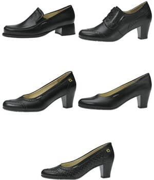 Chaussures  cuir, Business Lady, pour Femme