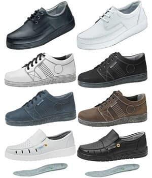 Chaussures avec semelle à coussin d'air