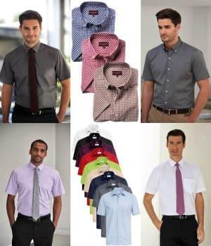 Chemises Homme manches courtes