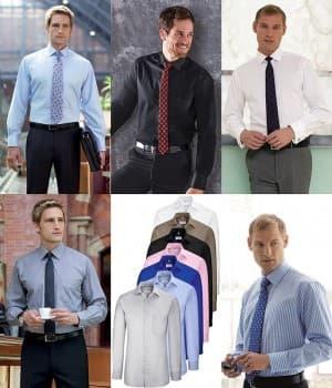 Chemises Homme manches longues