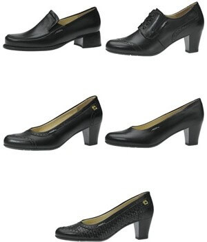 Chaussures Cuir, Business Lady