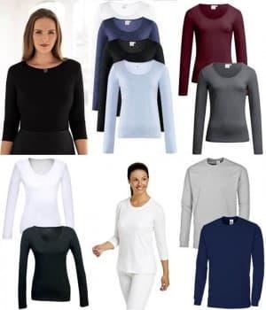 T-shirts femme manches 3-4 et longues