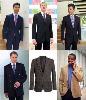 Vestes de Service Homme pour hôtellerie restauration