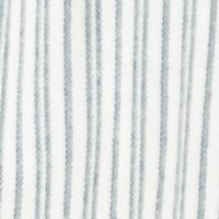 Rayures double Bleu, fond Ivoire (LV2)