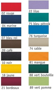 14 couleurs de cravate