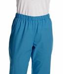 pantalon unisexe bloc turquoise
