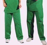 pantalon chirurgien vert